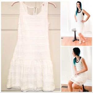 Candies- off White lace dress  sleeveless NEW